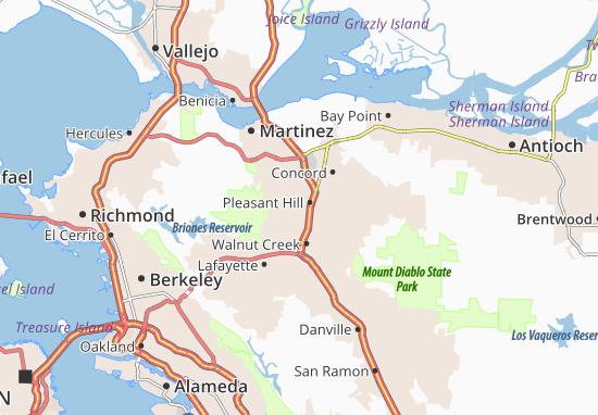 Pleasant Hill Map