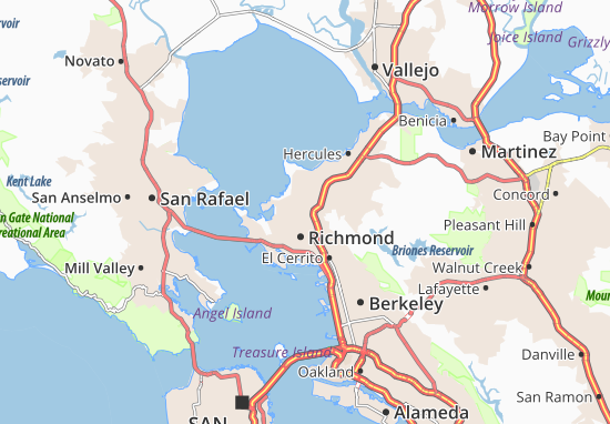 San Pablo Map