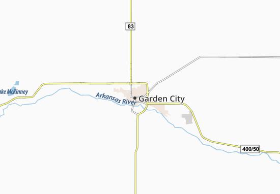 Carte-Plan Garden City