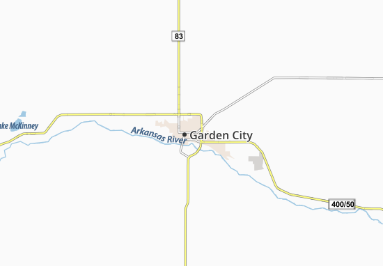 Garden City Map