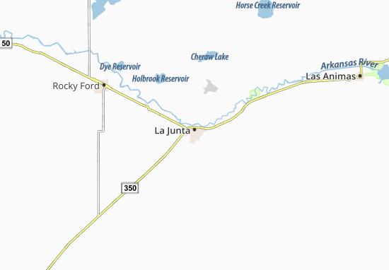 La Junta Map