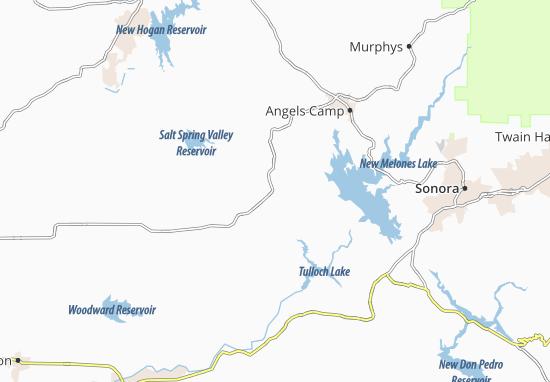 Carte-Plan Copperopolis