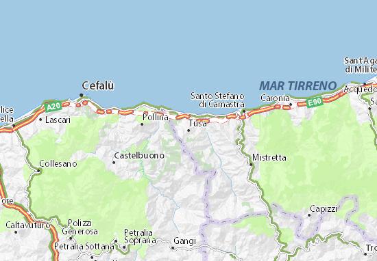 Mappe-Piantine Tusa
