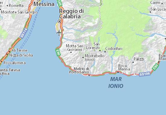 Mappe-Piantine Montebello Ionico
