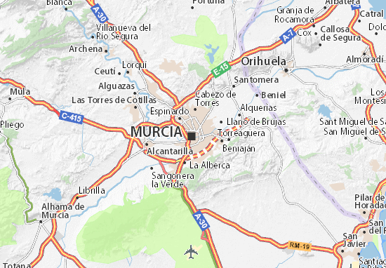 Mapas-Planos Murcia