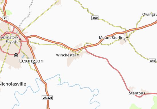 Carte-Plan Winchester