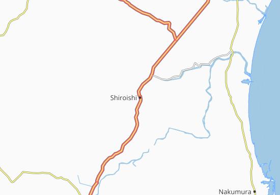 Shiroishi Map