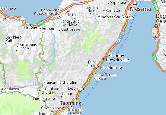 Mappe-Piantine Mandanici