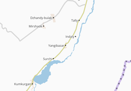 Mapas-Planos Yangibazar