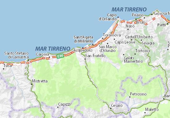 Mappe-Piantine San Fratello