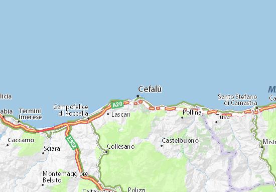 Mappe-Piantine Cefalù