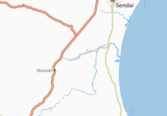 Kaart Plattegrond Funaoka