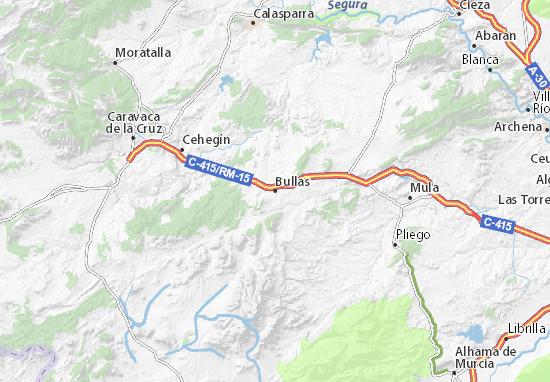 Bullas Map