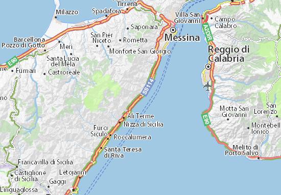Mappe-Piantine Guidomandri Marina