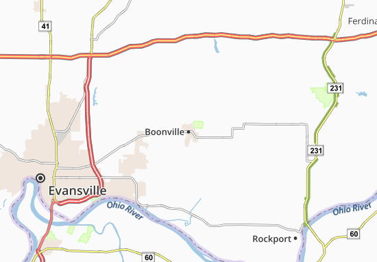 Boonville Map
