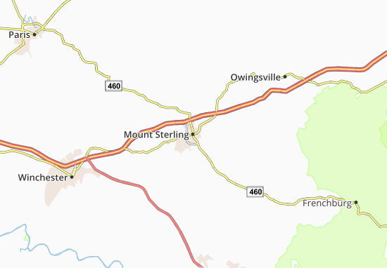 Mount Sterling Map