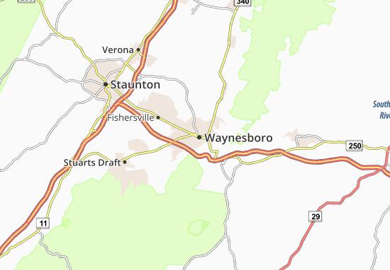 Waynesboro Map