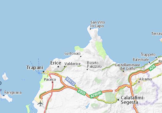 Mappe-Piantine Custonaci