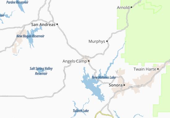Carte-Plan Angels City