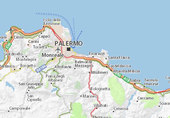 Mappe-Piantine Villabate