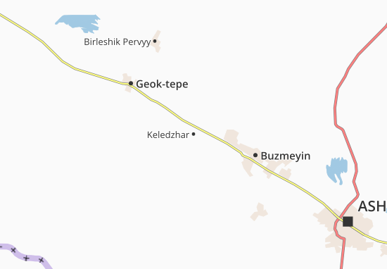 Mapa Plano Keledzhar