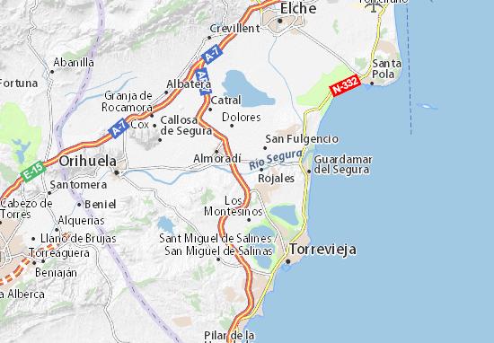 Mapas-Planos Formentera del Segura