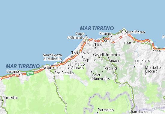 Capri Leone Map