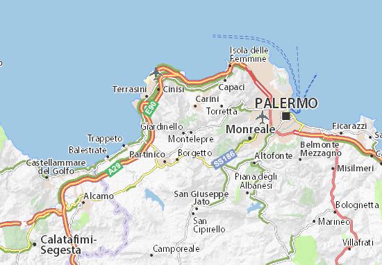 Mapas-Planos Montelepre