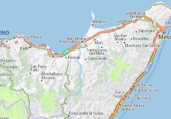 Mappe-Piantine Castroreale