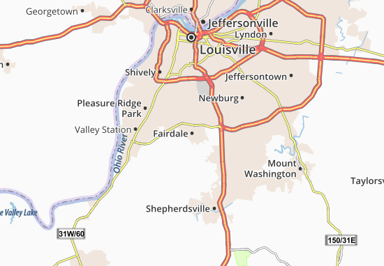 Fairdale Map
