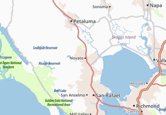 Novato Map