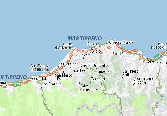 Naso Map