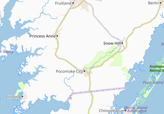 Cokesbury Map