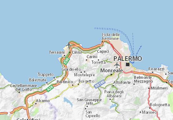 Mappe-Piantine Carini