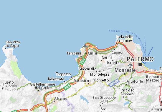 Mappe-Piantine Terrasini