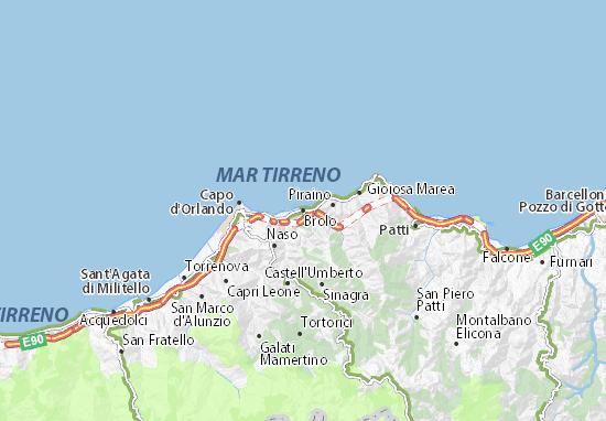 Mappe-Piantine Brolo