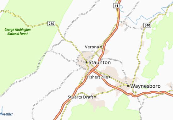Staunton Map