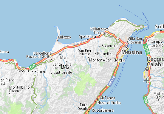 Mappe-Piantine San Pier Niceto