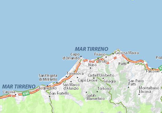 Mappe-Piantine Capo d'Orlando