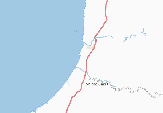 Kaart Plattegrond Iwafune