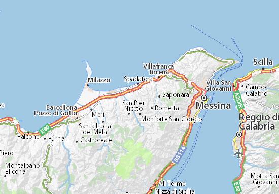 Mappe-Piantine Venetico Superiore