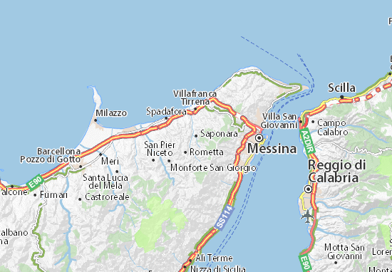 All ViaMichelin for Saponara. Map of Saponara   Michelin Saponara map   ViaMichelin