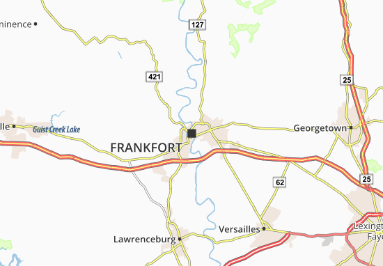 Frankfort Map