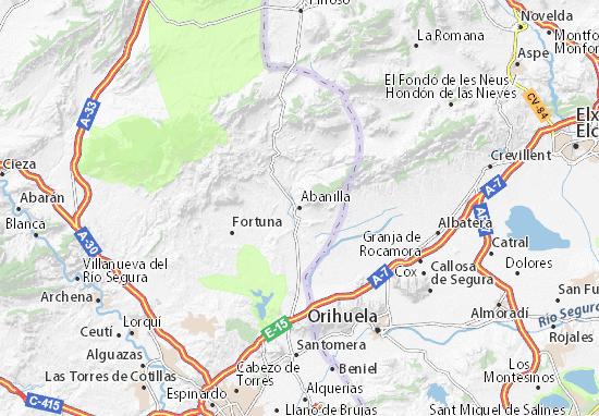 Mapas-Planos Abanilla