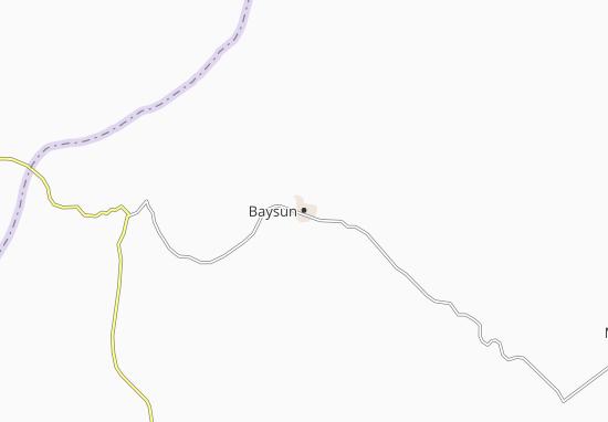 Mapa Plano Baysun