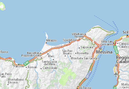 Mappe-Piantine Torregrotta