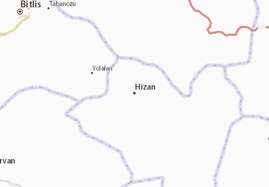 Hizan Map