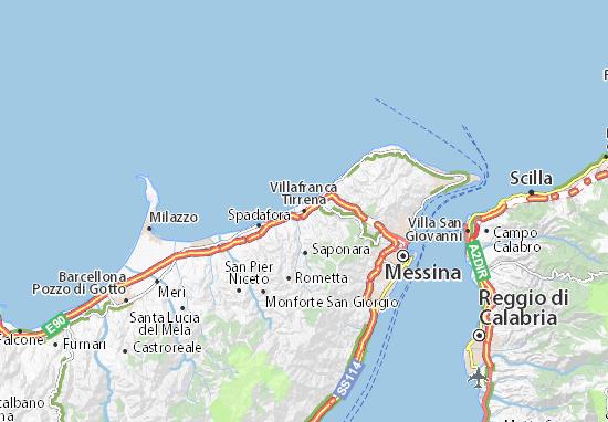 Mappe-Piantine Villafranca Tirrena