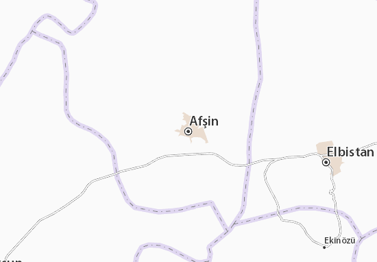 Carte-Plan Afşin