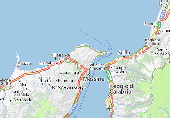 Messina Map